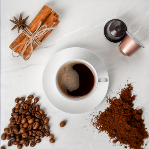 COFFEE BEANS, GROUND COFFEE & CAPSULES